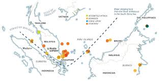 Map Of Southeast America by Pirates In Southeast Asia The World U0027s Most Dangerous Waters
