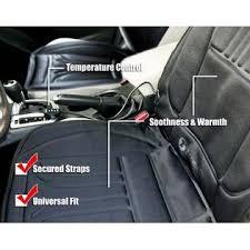 zone tech 2x new thickening heated car seat heater heated cushion