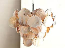 Coconut Shell Chandelier How To Make Coconut Shell Chandelier Seashell Diy With Regard