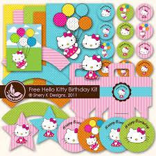 shery designs free svg printable kitty birthday kit