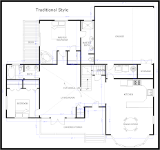 2d home plan drawing with traditional style house floor plan and 2