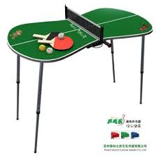 portable table tennis table china mini portable table tennis set green yy12tts01 g china