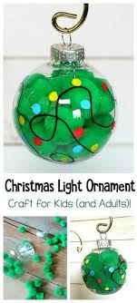 adorable light ornament craft and easy toddler