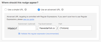 Regex Pattern Website Url | targeting by advanced url with regular expressions qualaroo