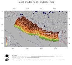 Maps Nepal by Map Nepal Ginkgomaps Continent Asia Region Nepal