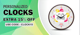 personalized picture clocks wall clocks buy personalized wall clocks with photo online in