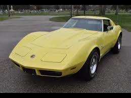 1974 corvette stingray value 1974 chevrolet corvette coupe l82 250hp 4 speed manual for
