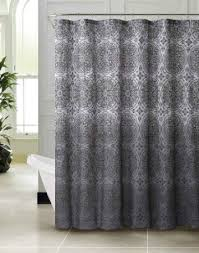 Charcoal Shower Curtain Wonderful Charcoal Grey Shower Curtain Contemporary The Best
