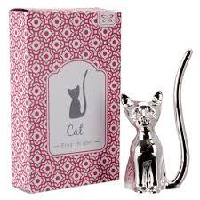 silver cat ring holder images Ring holders jpg