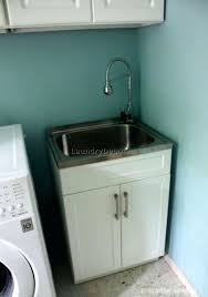 how to install a laundry sink washing machine sink hookup medium size of plumbings plumbing