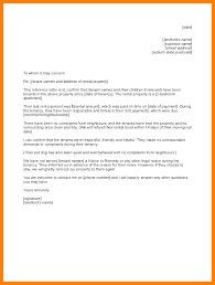 Notice To Vacate Apartment Letter 11 Reference Letter For A Tenant Day Care Receipts