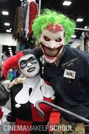 makeup school dc insanely creepy new 52 joker prosthetic and makeup joker