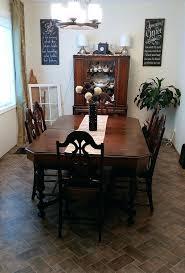 1940s walnut dining room set 103 innovative half moon marble and