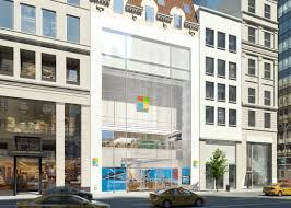 new flagship stores are bigger and more over the top