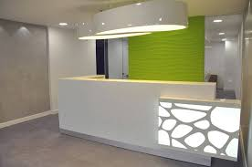 Padded Reception Desk Contemporary Reception Desk Design Modern Contemporary Reception