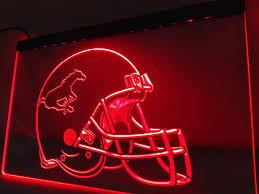 home decor calgary ld434 calgary stampeders helmet led neon light sign home decor