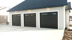 black garage doors are still on the rise