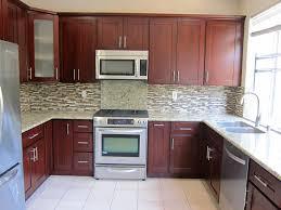 Dark Shaker Kitchen Cabinets Cherry Shaker Kitchen Cabinets Photo Album