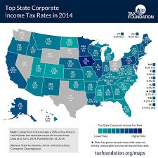 with the lowest corporate income tax rates infographic