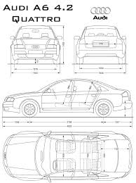 dimension audi a6 car audi a6 quattro the photo thumbnail image of figure drawing