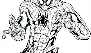 colouring pages spiderman printable free printable spiderman
