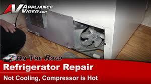 refrigerator fan not working amana refrigerator repair not replace compressor