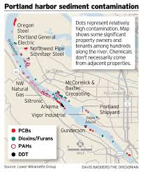 Map Of Portland Oregon Area by A Guide To The Portland Harbor Superfund Site News Opb