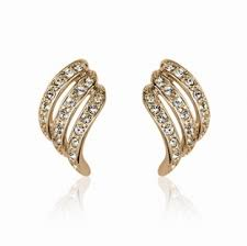 gold clip on earrings clip earrings and more fashion jewelry online sale from bellast