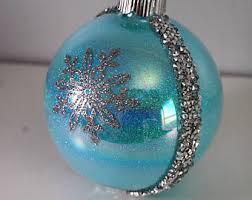 frozen ornament etsy