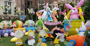 outdoor easter decorations easter explosion just