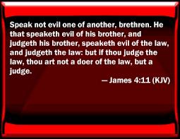 evil bible verses