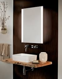 Bathroom Mirror Medicine Cabinet With Lights Glasscrafters Frameless Mirrored Medicine Cabinet With Vertical