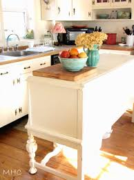 turning old sideboard buffet into kitchen island creative love