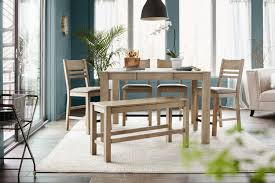 tribeca counter height table 4 side chairs and bench gray click to change image