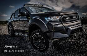 Ford Ranger Design Ms Rt And Carlex Design Dedicate Limited Edition Ford Ranger To