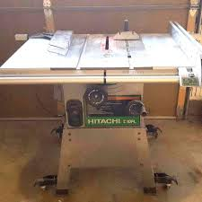 hitachi table saw price find more table saw hitachi c10fl great condition for sale at up