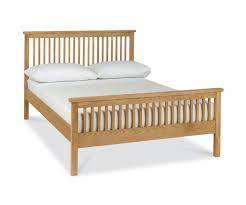 Atlanta Bed Frame Bentley Designs Atlanta Oak 4ft Small High Foot End Bed