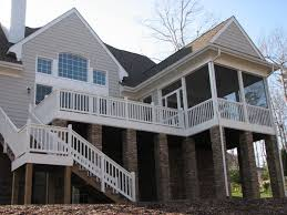 2 story deck radnor decoration