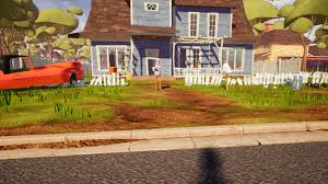 home design game neighbors hello neighbor review a thrilling surprise lurking around every