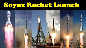 rocket launch compilation soyuz rockets go to space youtube
