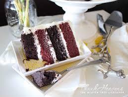 red velvet chocolate mud cake bonanza gluten free dairy free