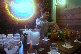 launch party at las iguanas temple street caramel latte kiss