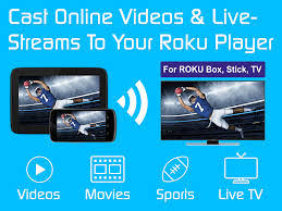 video u0026 tv cast roku remote u0026 movie stream app android apps on