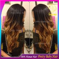 honey brown hair with blonde ombre honey blonde ombre body wave u part wig unprocessed virgin indian