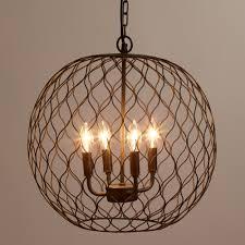 chandelier amusing bronze orb chandelier wonderful bronze orb