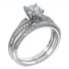 Vera Wang Wedding Rings by Engagement Rings Solitare Accent Irene Engagement Ring
