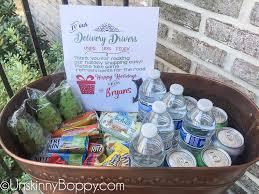snack basket delivery delivery driver porch snacks free printable unskinny boppy