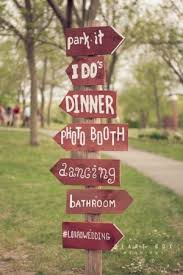 wedding signs diy 10 most diy wedding signs