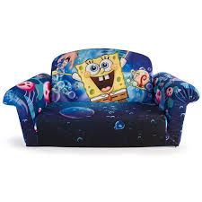 Mickey Mouse Fold Out Sofa Amazon Com Marshmallow Furniture Children U0027s 2 In 1 Flip Open