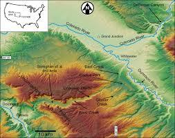 Gateway Colorado Map Water Sense Of Place Colorado College Map Of The Major Dams Along